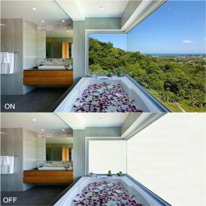 Quality bathroom windows privacy glass EBGLASS for sale