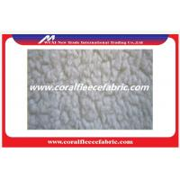 Soft Knitted Polyester Blend Lambs Wool Fabric / Wool Suiting Fabric for Coats