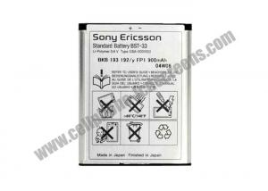 China Rechargeable Slim High Capacity Cell Phone Battery 900mAh For Sony Ericsson W950 / W850 / K800 on sale