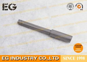 China Stirring Extruded Graphite Rod 1.85g / CM3 Bulk Density 0.1% Max Ash Content supplier