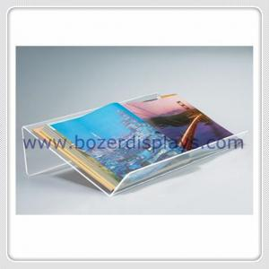 China Large and Extra-wide Acrylic Desktop Book Displayers on sale