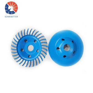 China Diamond Grinding Wheel Turbo Cup Wheel Stone Concrete Polishing wheel on sale