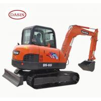 factory manufacture mini small crawler excavator DS-60 6tons excavator for southerneast market
