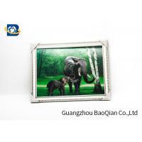 Customized Size 3D Lenticular Pictures Animal Decorative Framed Picture