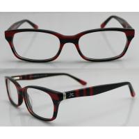 China Stylish Custom Handmade Acetate Optical Eyeglass Frames For Ladies, 52-17-135mm on sale