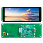LVDS display 6.86 bar lcd touch screen 7 inch 1280*480 with MIPI/LVDS optional