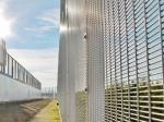 China Small Mesh Opening Prison Security FencePVC Powder Painting Maximum Visibility wholesale