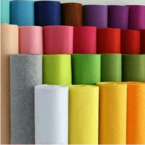China 3mm thickness Non-woven Felt Fabric Polyester Cloth Felts DIY Kindergarten supplies for Sewing Dolls Crafts accessories supplier