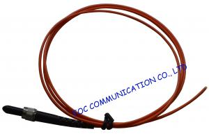 China SMA Multi mode Fiber Optic Pigtail Simplex Good Exchangability For Fiber Optic Instrument on sale