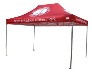 China Advertising Outdoor Exhibition Tents , Custom Printed Outdoor Display Tents on sale