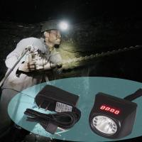 KL4.5LM digital and cordless cree led rechargeable battery mining lamp