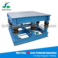 China Electric alluvial gold ore shaking vibrator table for tile on sale