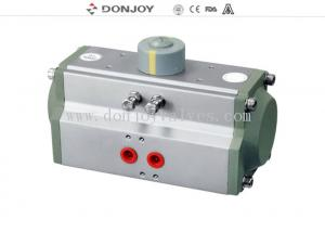 China DC24V Horizontal Aluminum Pneumatic Actuator Air Cylinder Single Acting Actuator on sale