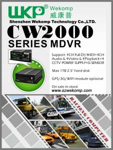 China 4CH H.264 HDD Mobile Vehicle DVR System Security Backup Economical DVR for Vehicle on sale
