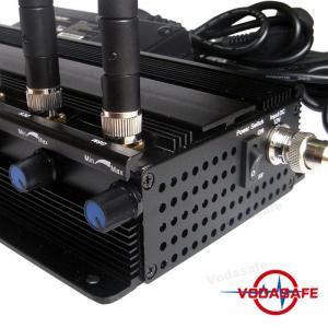 China 8 RF Power Adjustable Mobile Phone Signal Jammer 2G 3G 4G 5G Cell Phone Signal Jammer on sale