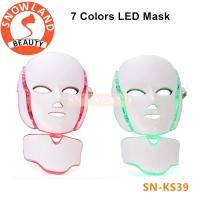 Skin rejuvenation ance and face treatment led mask with neck