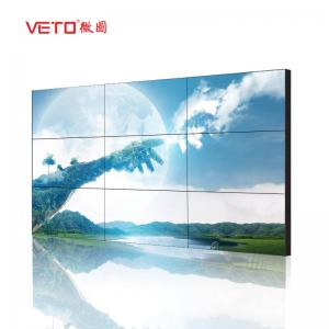 China 3.5 Mm LCD Video Wall Display , Digital Signage Video Wall For Airport / Hotel on sale