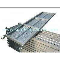 High quality catwalk, galvanized scaffolding steel plank steel board with 50mm hooks match ringlock system 0.9-2.4M