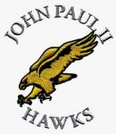 China Custom designs for Embroidery Digitizing Fly eagle John Paul Hawks WCD11303 wholesale