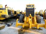 New Paint Caterpillar Used 140h Motor Grader 185hp Engine Power 6 Cylinders