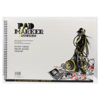 China Artist painting pad , the marker pad , A3 / A4 / A5 , low permeation marker pad on sale