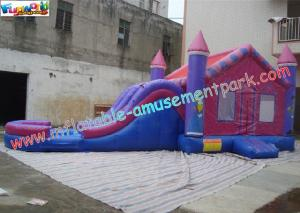 China Customized Inflatable Bouncer Slide For Children With 9L x 4W x 6H Meter on sale