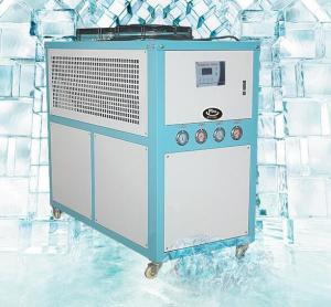 China Small Water Cooled Industrial Chillers , 30 Ton Air Cooled Chiller  Digital Temperature Controller on sale