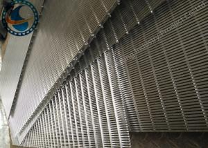 China 5*10 V wire & 4*8mm square wire stainless steel 304L heavy duty wedge wire screen panel on sale