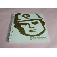 Commercial Large Catalog Printing Services For Teenager , Spiral Book Printing