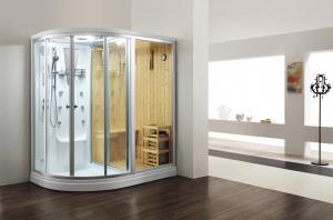 China Monalisa M-8251 (R/L) steam sauna room with shower sauna steam enclosure saunas steam cabin shower room with sauna on sale