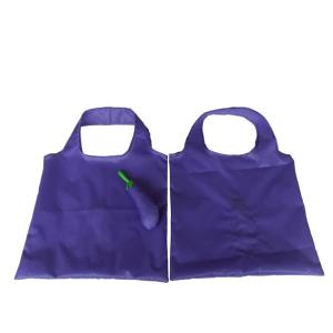 China Egg plant shape shopping bags, non woven custom design shopping totes, grocery bag polyester folding promotional bag on sale
