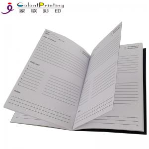 China A5 / B5 Custom Planner Printing  Saddle Stitch Softcover Personalized Academic Planner on sale