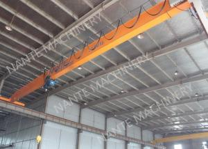 China 2 T Single Girder Overhead Cranes For Factories / Material Stocks / Workshop on sale