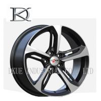 China 18 Inch Custom Wheels Car Rims Personalized Private Sliver Machined Face on sale
