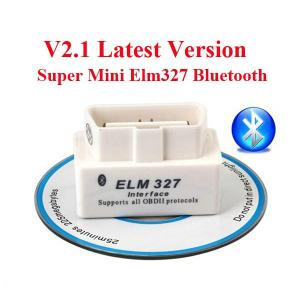 China V2.1 OBD2 ELM327 Interface Bluetooth Diagnostic Code Scanner For Cars on sale