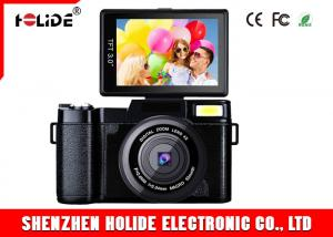 China 8MP CMOS Full HD Compact Camera , Digital Video Recorder Camera Extend Retract Flash Lamp on sale
