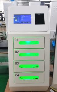 MCU System Wall Mounted Phone Charging Station with 4 Doors