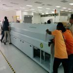 10 Temperature Zones Solder Reflow Oven / Reflow Soldering Machine RF1020PC