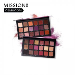 China Factory wholesale Cheap Price Multi colors fashion glitter & matte eye shadow pallets on sale