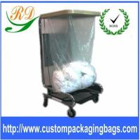 PVA Cold Hot Water Soluble Biodegradable Plastic Shopping Bags For Hospital