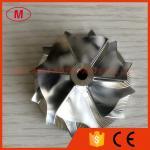 TD04H 6+6 blades 44.00/56.00mm high performance Turbocharger Billet/milling/aluminum 2618 compressor wheel