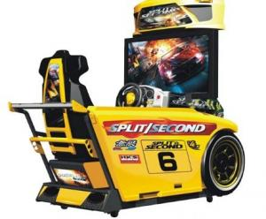 China Speed Car Racing Arcade Machine Metal Material High Resolution With 42  LCD Screen on sale