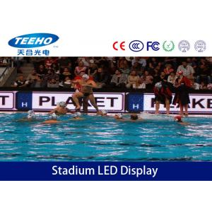 China 3-IN-1 SMD Indoor P6 Stadium LED Display Screen For Football Court , MBI5024 1R1G1B on sale