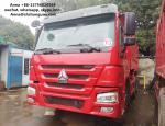 HOWO 375 Euro 3 Used Dump Trucks 9000 * 2500 * 3500 Mm Easy Operation