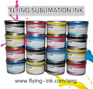 China Flying heat transfer sublimation ink for offset printing (FLYING FO-GR Sublimation  Ink) on sale