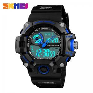 China SKMEI 1331 Men's Military Sport Watch chrome watches men Luxury LED Digital & Quartz Sport Watches on sale