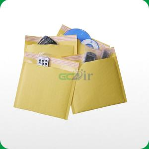 China Customized self-seal kraft bubble padded mailer for CD on sale