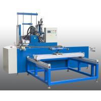 Horizontal Insulating Glass Auto Sealing Machine / Robot , Automatic Sealant Sealing Line