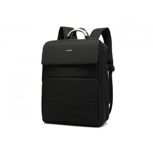 China 15.6 Inch Laptop Bag for Women Black Waterproof Nylon Backpack for Laptop on sale