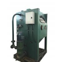 Electric Wet Sandblasting Equipment , Wet Blasting Cabinet For Surface Cleaning